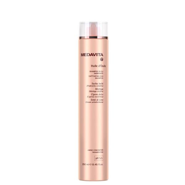 HUILE D'ÉTOILE Обогащённый маслами шампунь для придания блеска волосам 250мл